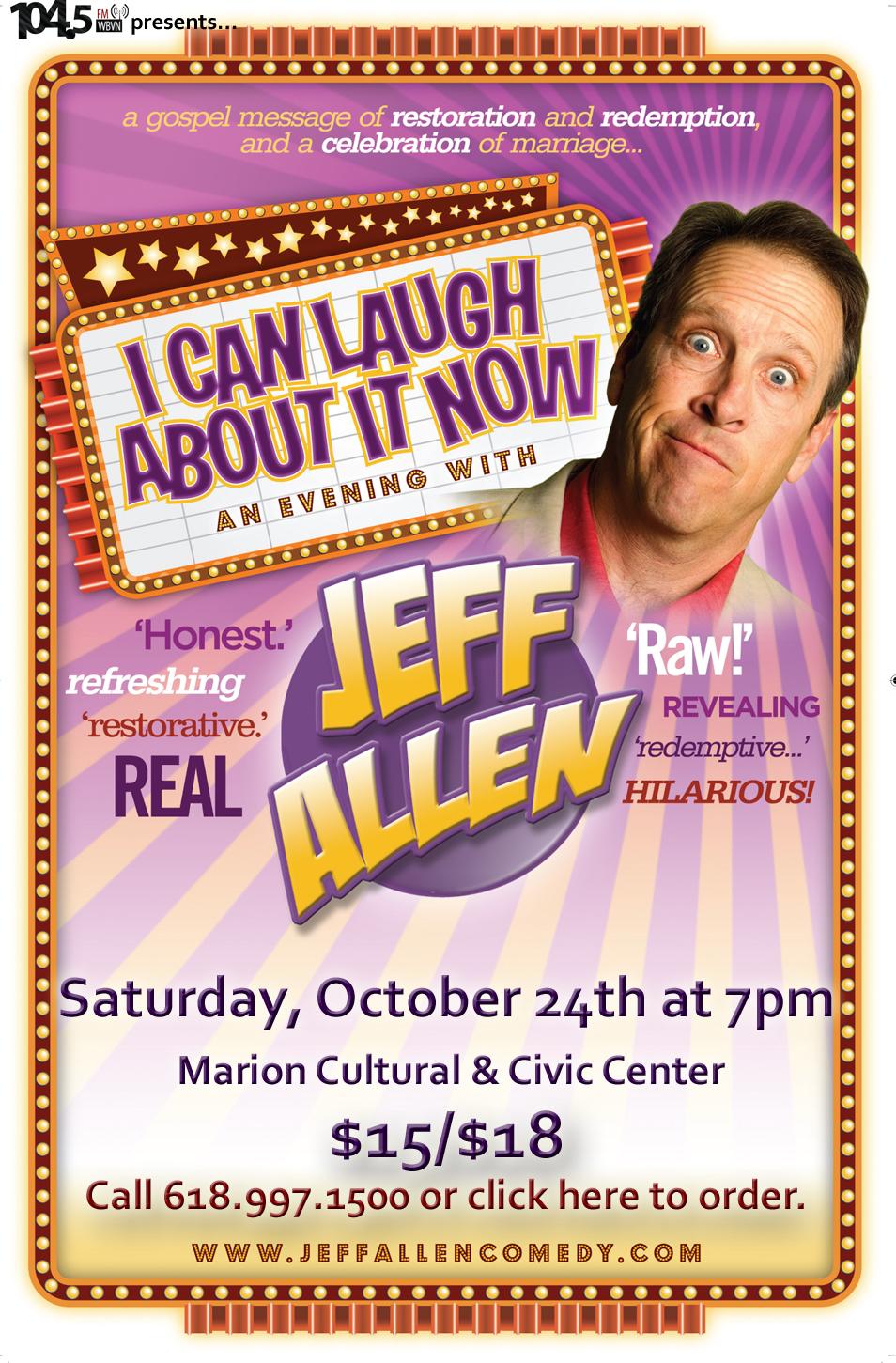 Jeff Allen 11x17 Poster copy